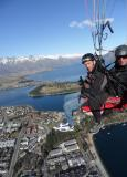 Enjoying the view in Queenstown NZ